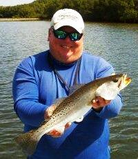 Capt. Jim with a nice trout